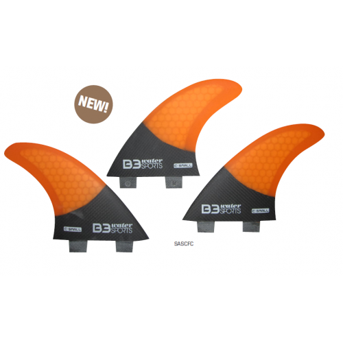 Set Aletas Surf Honey Carbon (3 aletas) FCS