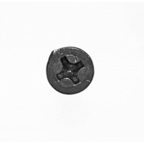 Tornillo Aleta Acero 6x25mm Phillips Avellanada