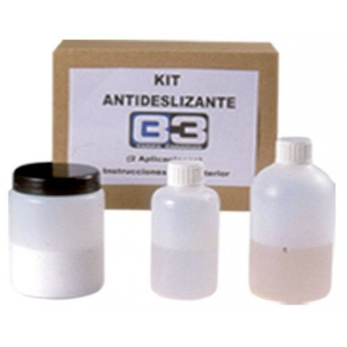 Kit Anti-Deslizante (Polvo-Laca 2 componentes)