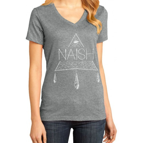 Naish 2017 APP Womens Boho Triangle V-Neck Grey