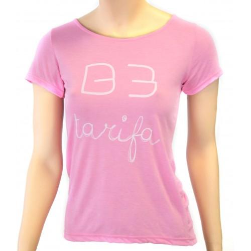 B3 App Camiseta Tarifa Women Rosa