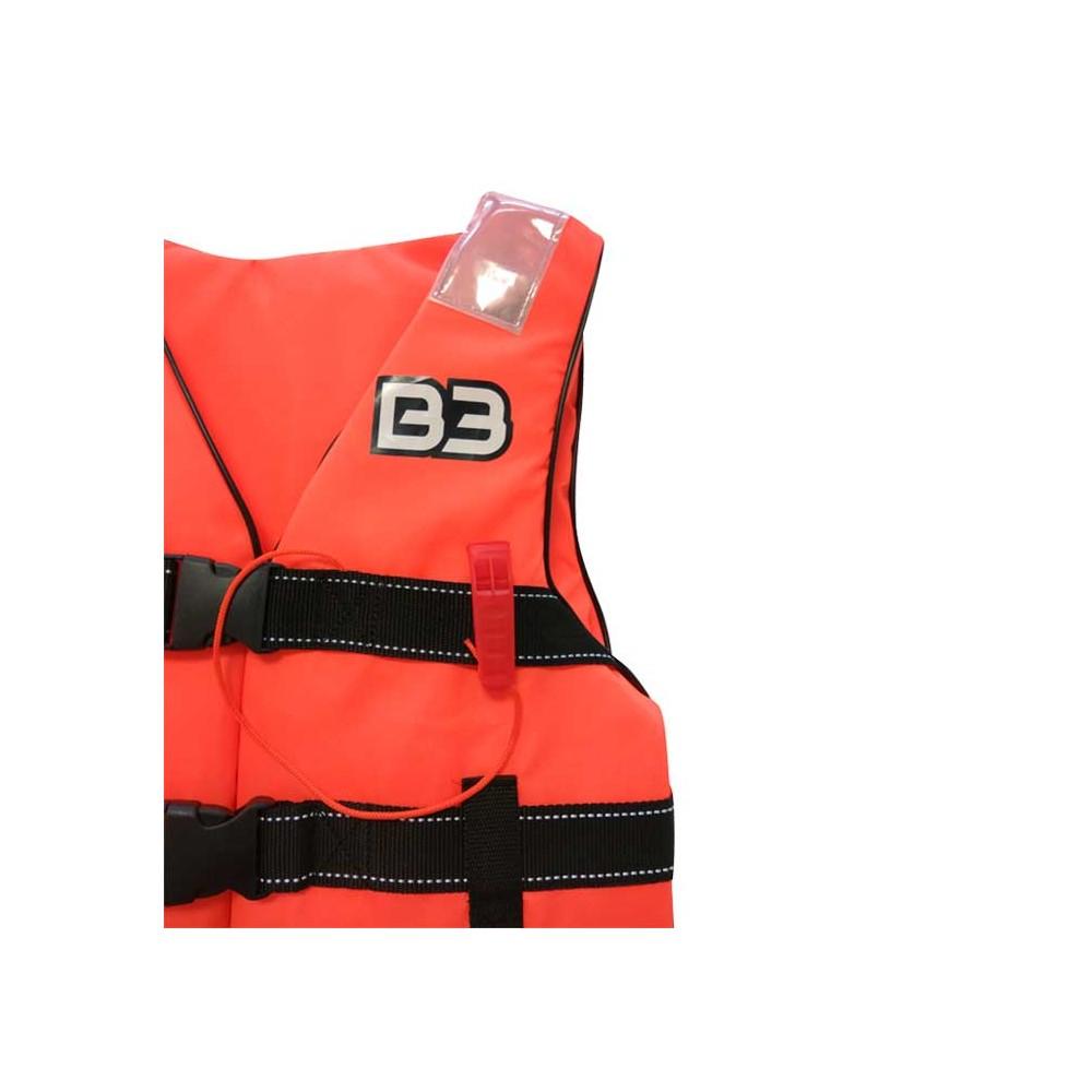 Chaleco Flot. Nylon B3 (150N) 3 Buckle
