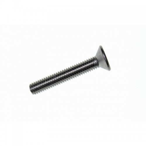Tornillo Aleta Acero 6x30mm Phillips Avellanada