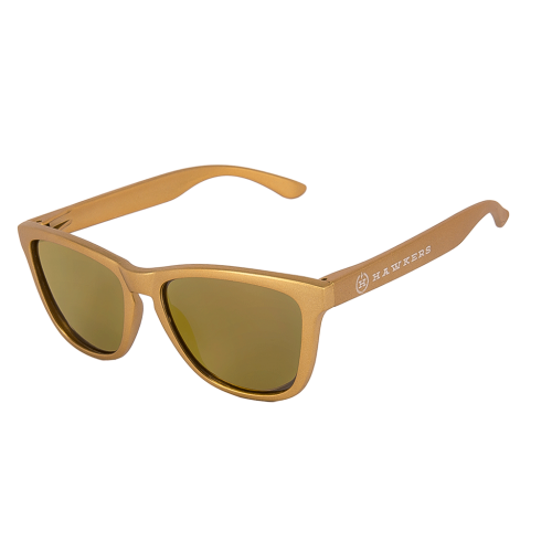 Hawkers Sunglasses Metal Dorado Vegas One