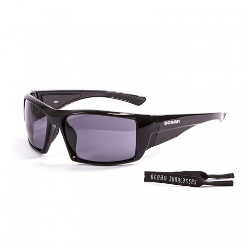 Ocean Glass Aruba Shiny Black Smoke Lents