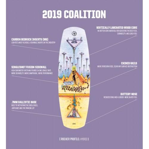 Coalition Slingshot 2019 Wakeboard