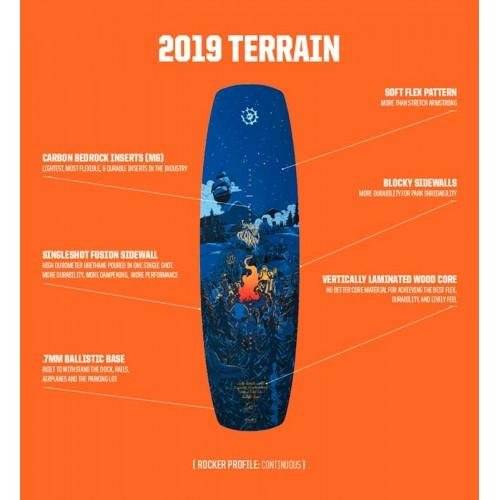 Slingshot 2019 Wakeboard Terrain