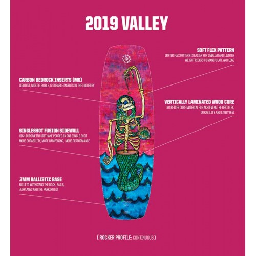 Valley Slingshot 2019 Wakeboard