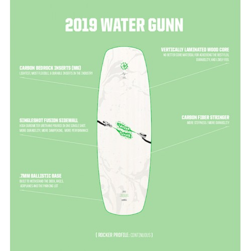 Water Gunn Slingshot 2019 Wakeboard