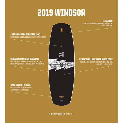 Slingshot 2019 Wakeboard Windsor
