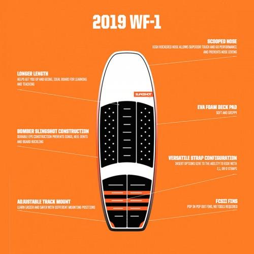 "Slingshot 2019 Foil Board WF-1 4´10"" Board Only"