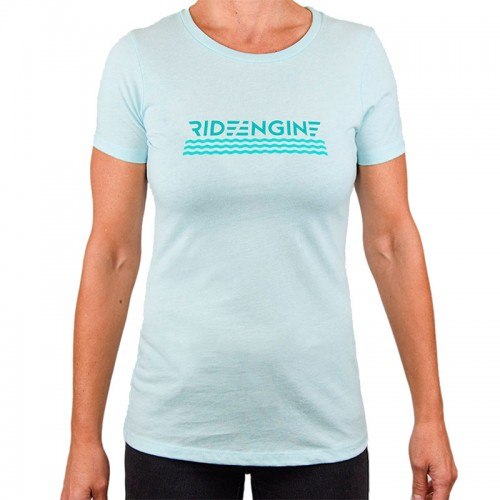 Ride Engine APP Women`s Holiday Tee