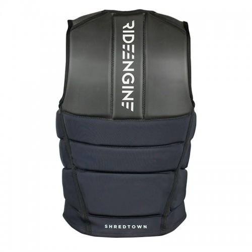 Ride Engine 2018 Shredtown Impact Vest Black Wake