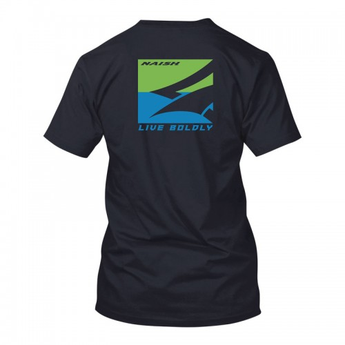 Naish APP Camiseta SLim Box Tee - Navy