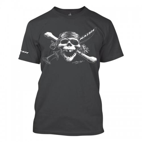 Naish APP Camiseta Pirate Tee - Charcoal