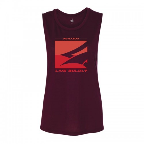 Naish APP Camiseta Muscle Tank - Maroon