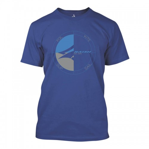 Naish APP Camiseta Circle Tee - Deep Royal
