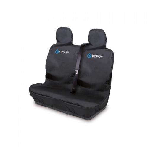 Surf Logic Car Seat Cover Double Black(Waterproof)