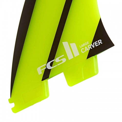 Set Aletas FCS II Carver Neo Glass L Tri-Quad Fins
