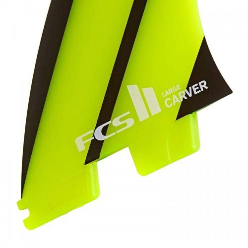 Set Aletas FCS II Carver Neo Glass L Tri-Quad Fins
