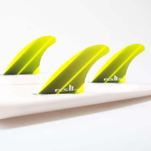 Set Aletas Tri FCS II Carver Neo Glass L Acid Gr