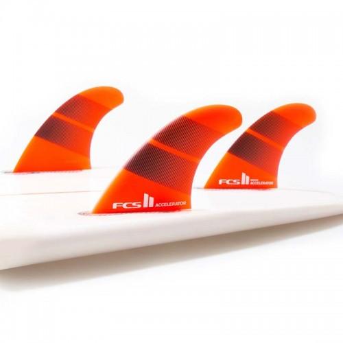 Set Aletas Tri FCS II Accelerator Neo Glass M Tang