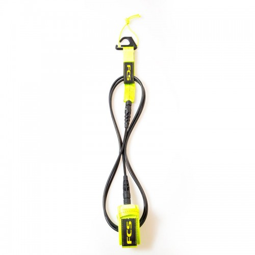 Leash FCS 6´ Comp Essential Fluro Green