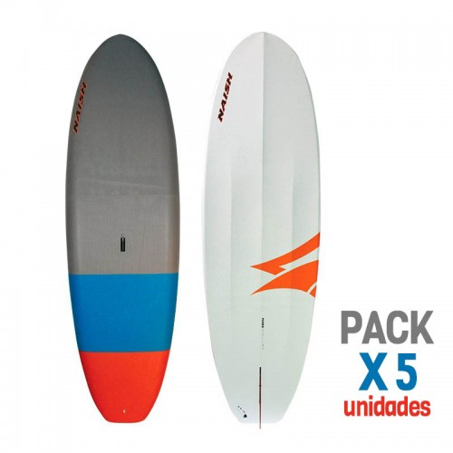 "Pack Naish 5X SUP MANA 9'8"" SOFT TOP 2019"