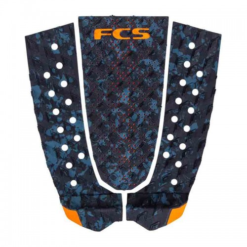 Pad FCS T-3 Blue Fleck/Orange