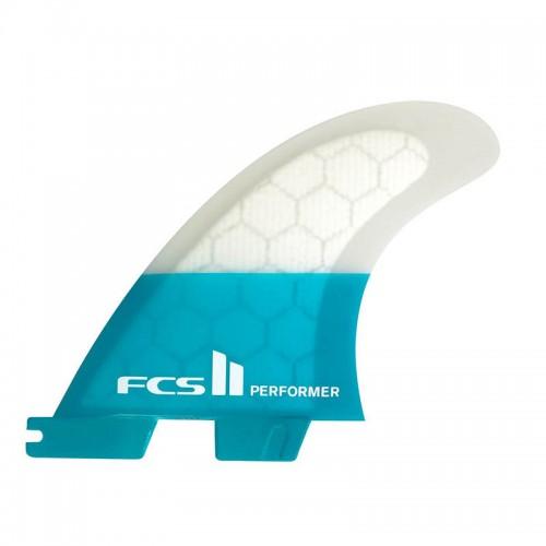 Set Aleta FCS II Tri Fin SUP Performer PC Teal M