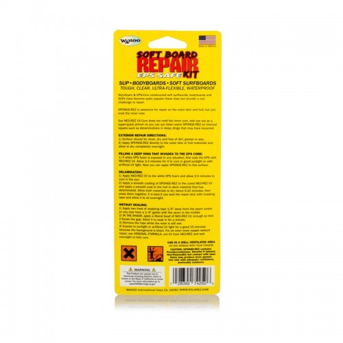 Kit Reparacion Solarez Soft Surfboard Repair Kit