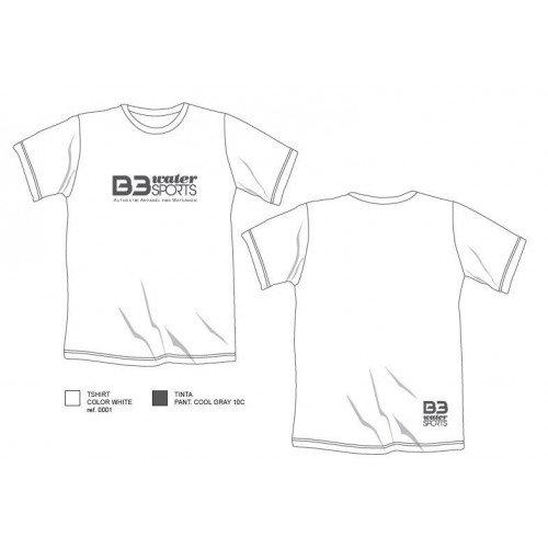 B3 App Camiseta Watersports Blanco