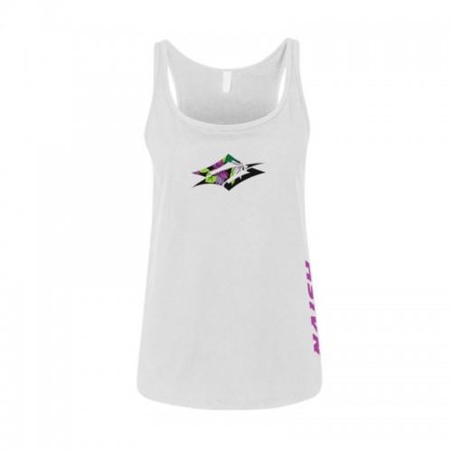 Camiseta Naish Flower Diamond Tank - White