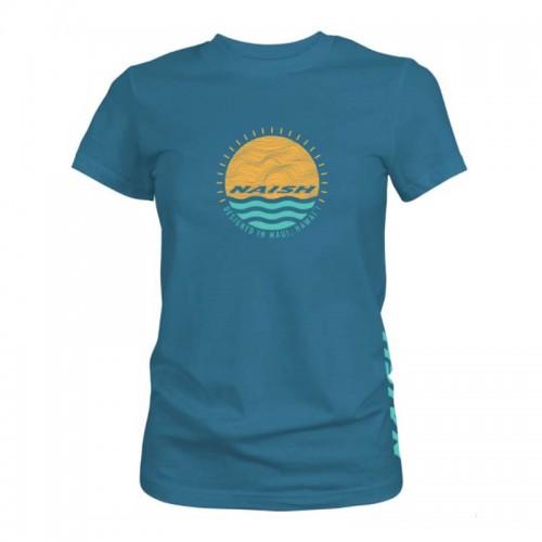 Camiseta Naish Circle Sunset Deep Teal