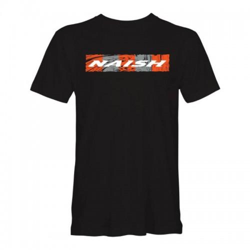 Camiseta Naish Waves Rectangle Black