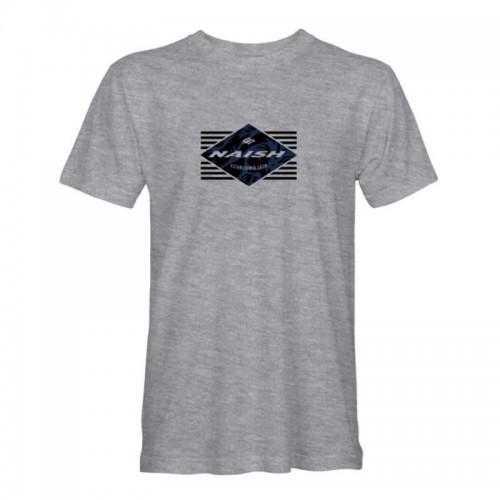 Camiseta Naish Established Heathered Grey