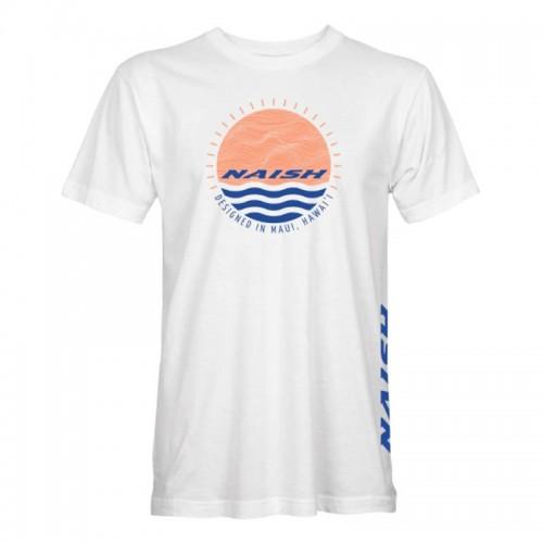 Camiseta Naish Sunset Circle White