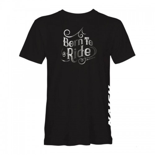 Camiseta Naish Born To Ride Black