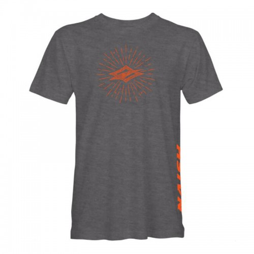 Camiseta Naish Diamond Burst Heather Grey