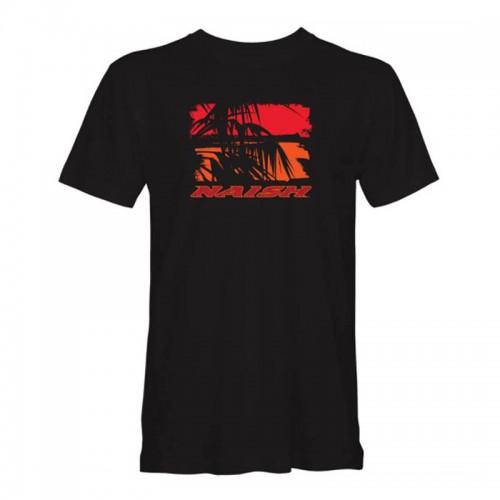 Camiseta Naish Palm Sunset Tee Black