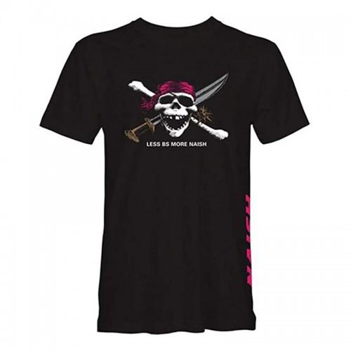 Camiseta Naish Less BS Skull Black
