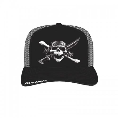 Gorra Naish Naish Skull Trucker Black