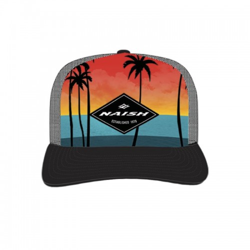 Gorra Naish Palm Sunset Trucker Digital Print