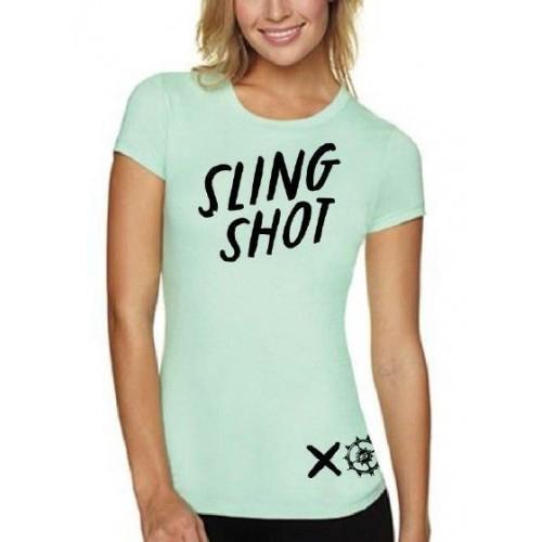 Slingshot 2014 Women's XO Type Tee Sz