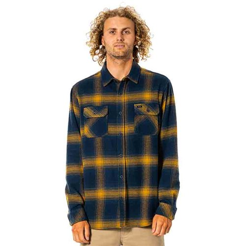 Camisa Count Long Sleeve Rip Curl